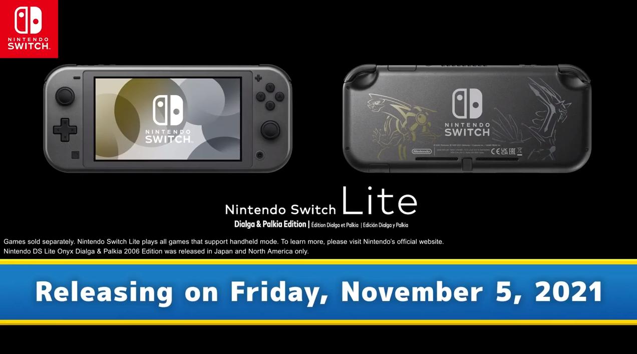 Image: Switch Lite im Pokémon BDSP Style