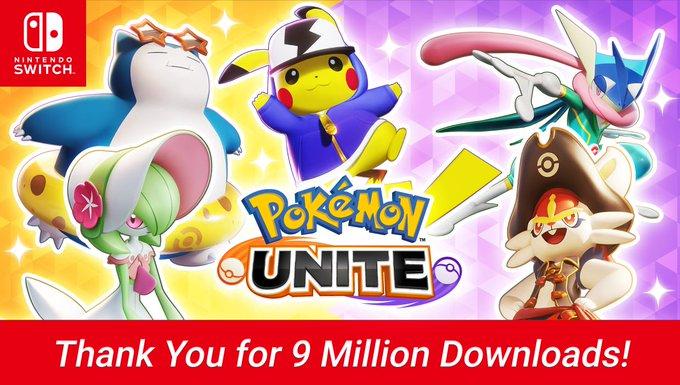 Image: Pokémon Unite 9 Millionen vorregistrierungen!